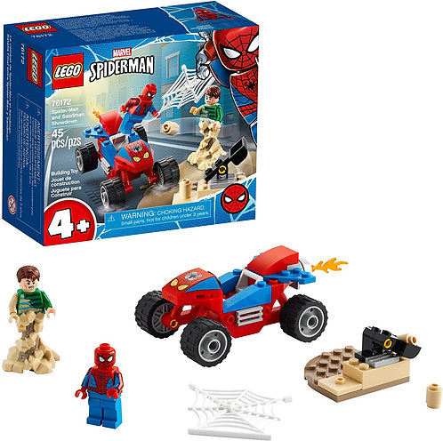 LEGO Marvel Spider-Man: Spider-Man and Sandman Showdown