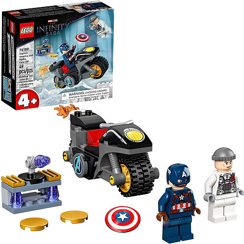 LEGO Marvel Captain America and Hydra Face-Off