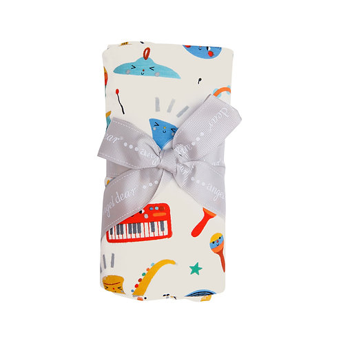 Happy Music Swaddle