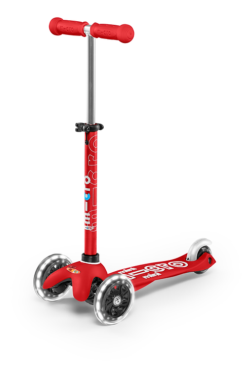 Micro Mini LED Deluxe Scooter
