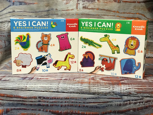 Yes I Can! Beginner Puzzles