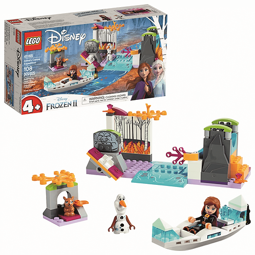 LEGO Anna's Canoe Expedition