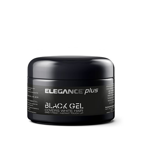 Elegance 2 Pack Pro Hair Gel + Hair Color | White Grey Color Touch Up | Hair Gel