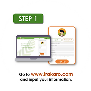Trakaro Sign Up