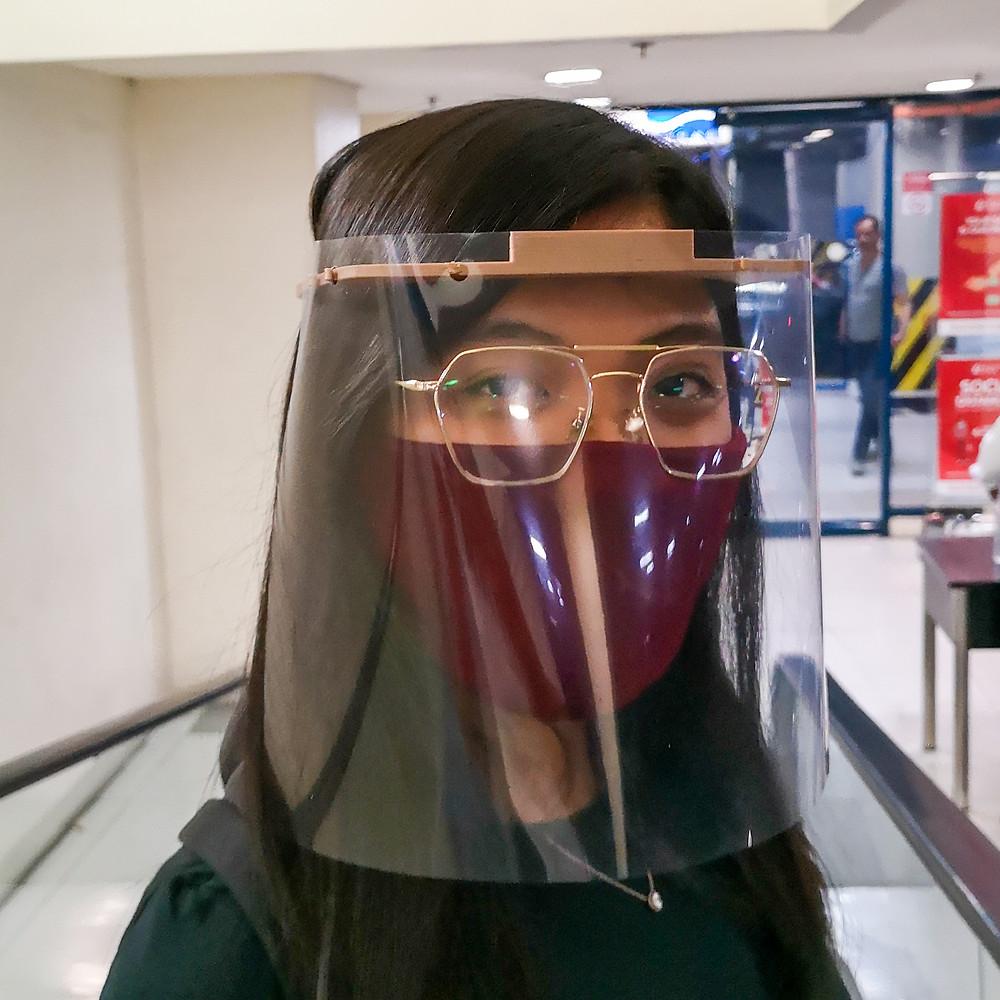 3D Printed Face Shield by Kezar3D
