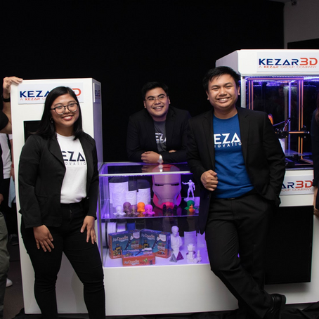 Filipino Startup, Kezar3D, secures Php7.63M worth of seed funding in a week