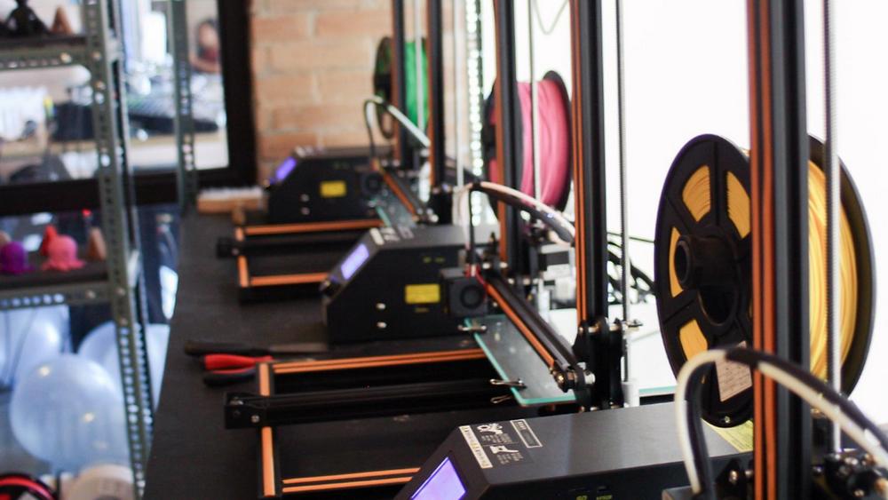 Kezar3D's 3D Printing Facility