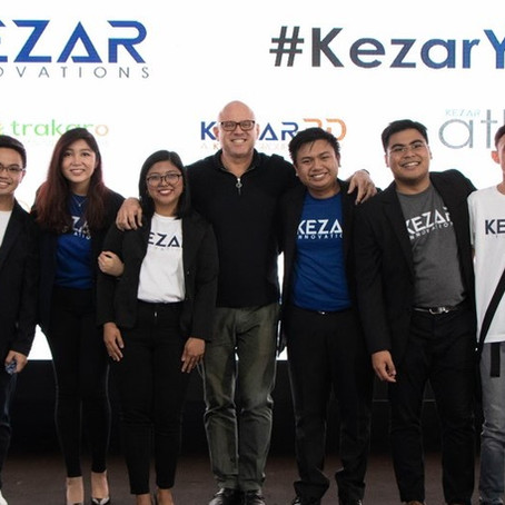 Filipino Startup Celebrates 1-Year Anniversary Milestone #KezarYear1