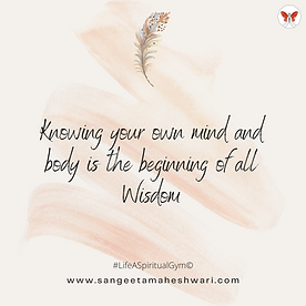 SangeetaMaheshwari-UnderstandingOnesSelf
