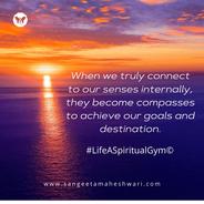 Sangeeta Maheshwari - Activating senses - inner growth and happiness