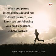 Sangeeta Maheshwari - Pressure for passion - inner growth and happiness