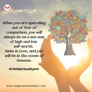 Sangeeta Maheshwari - comparison or compassion - inner growth and happiness