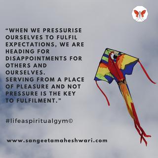 Sangeeta Maheshwari - When we pressurise