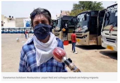 Jasper Reid - Coronavirus Relief Distrib