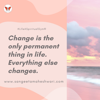 Is change necessary for our growth