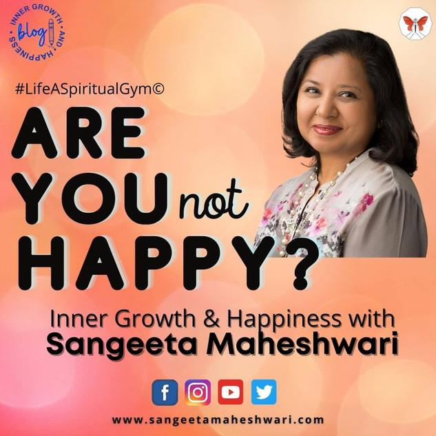 Sangeeta Maheshwari - What do you do whe