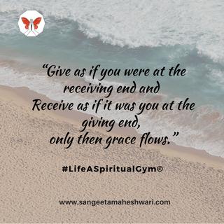 Sangeeta Maheshwari - Give as if - inner