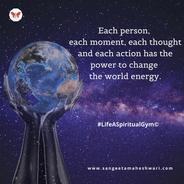 Sangeeta Maheshwari - every drop counts - inner growth and happiness
