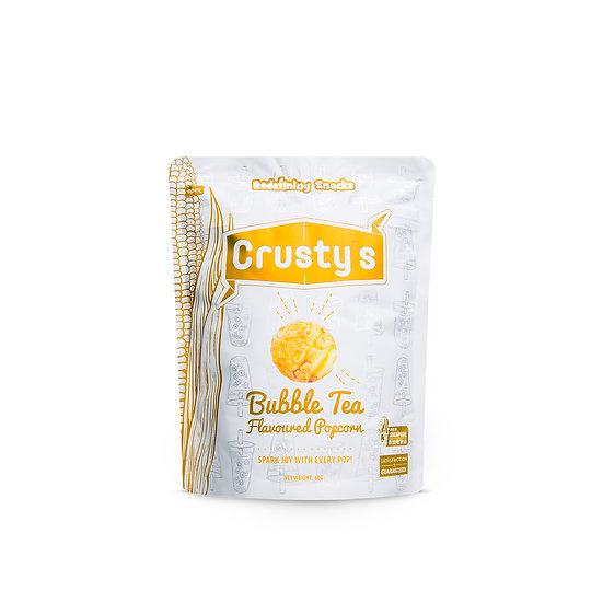Crusty's Bubble Tea Flavoured Popcorn