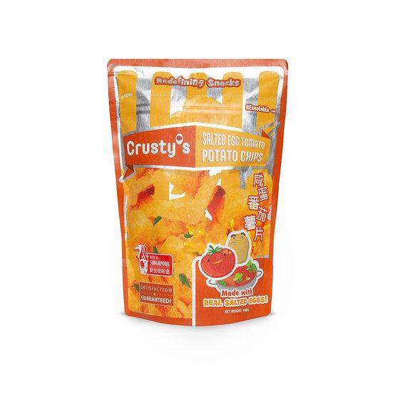 Crusty's Tomato Salted Egg Potato Chips