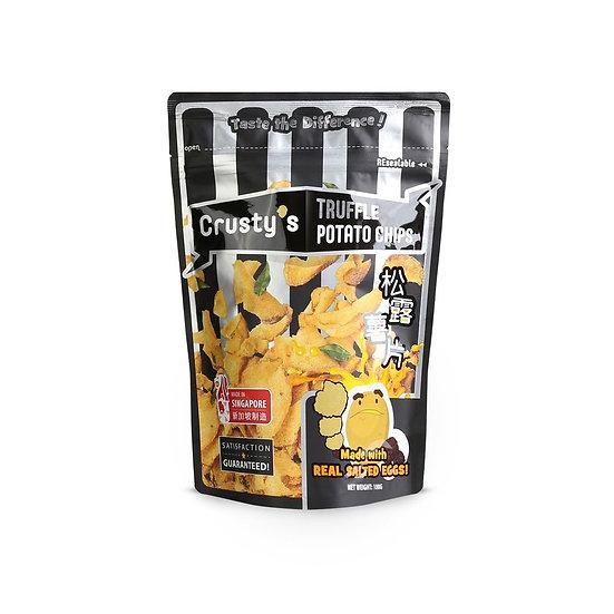 Crusty's Truffle Salted Egg Potato Chips