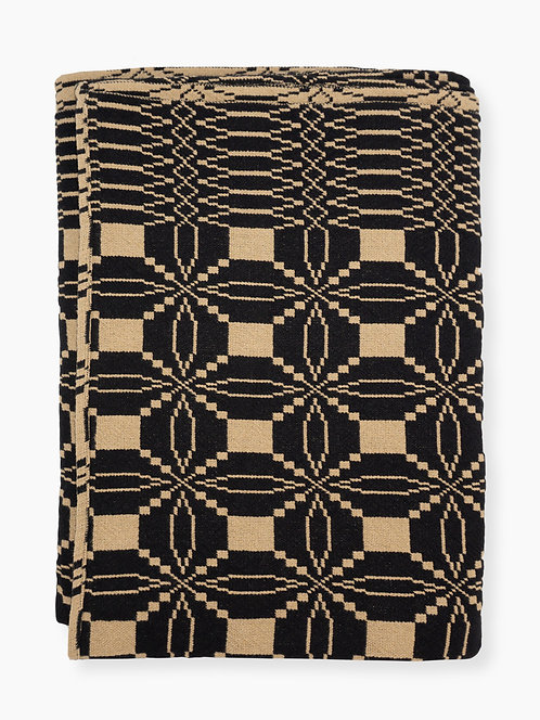 Eternal Love Coverlet Black