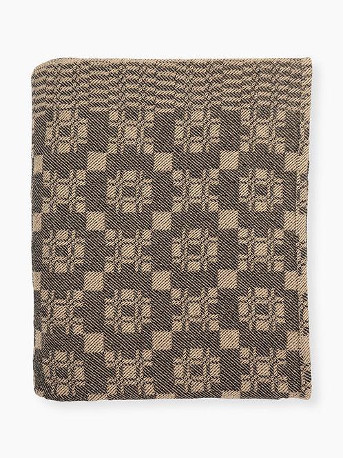 1823 Leisey Block Coverlet - Black