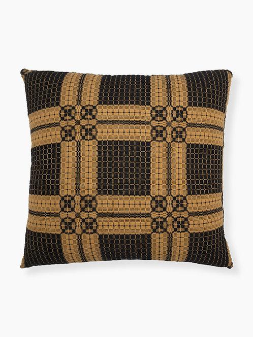 Chariot Wheel Pillow - Black