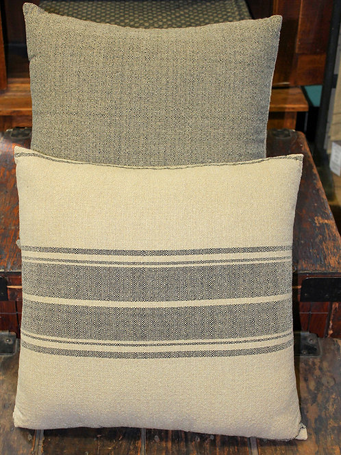 "Stripe #19 - 20"" Throw Pillow"