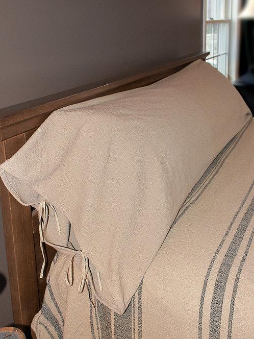 Homespun Plain Weave - Bolster Cover