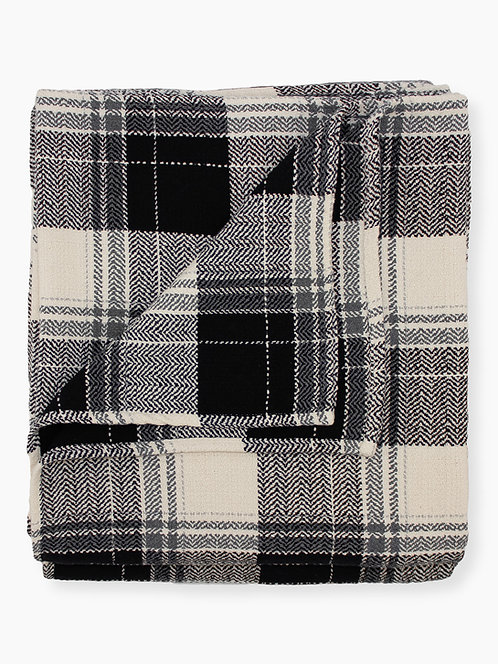 Farmhouse Plaid - Blanket