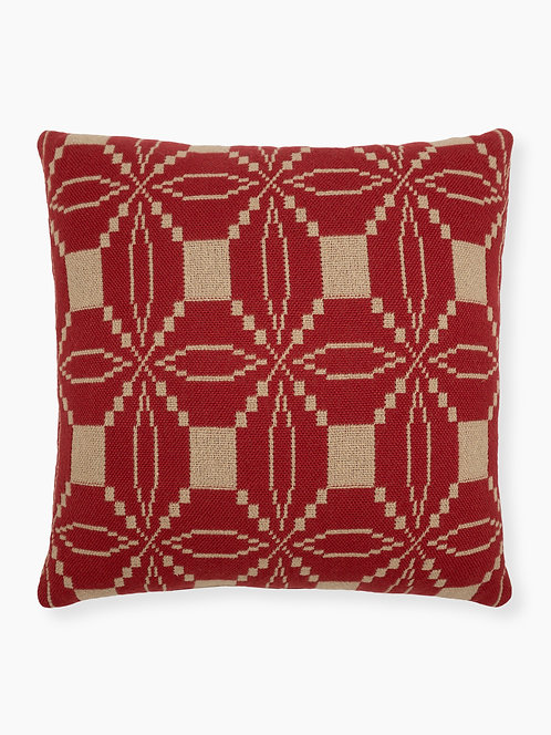"Front - Eternal Love 16"" Throw Pillow - Brick"