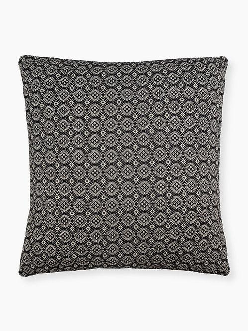 Angstadt #33 Pillow - Front, Black