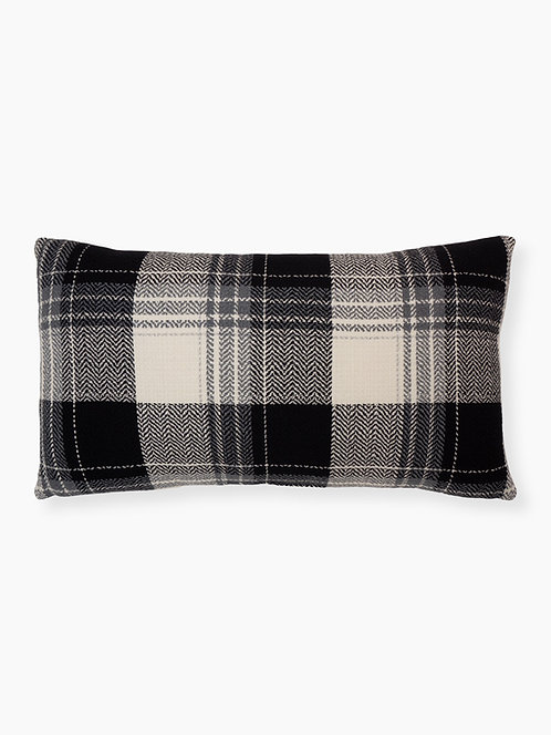 Farmhouse Plaid - Lumbar Pillow