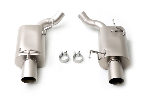 Ford Mustang ('05-'10) Axle Back Exhaust System