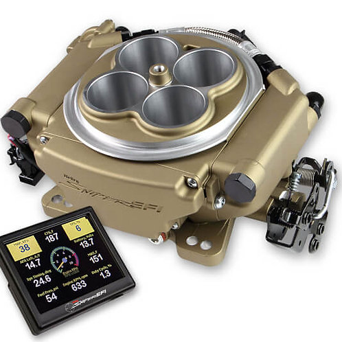 HOLLEY SNIPER EFI 4150 SUPER SNIPER 650 - CLASSIC GOLD