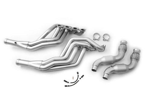Ford Mustang ('15-'19) Long Tube Headers High Flow Catalytic Converter