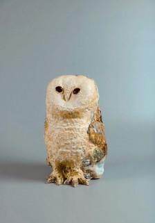 貓頭鷹 2020 陶土、釉藥 W18 x H31 x D20 cm