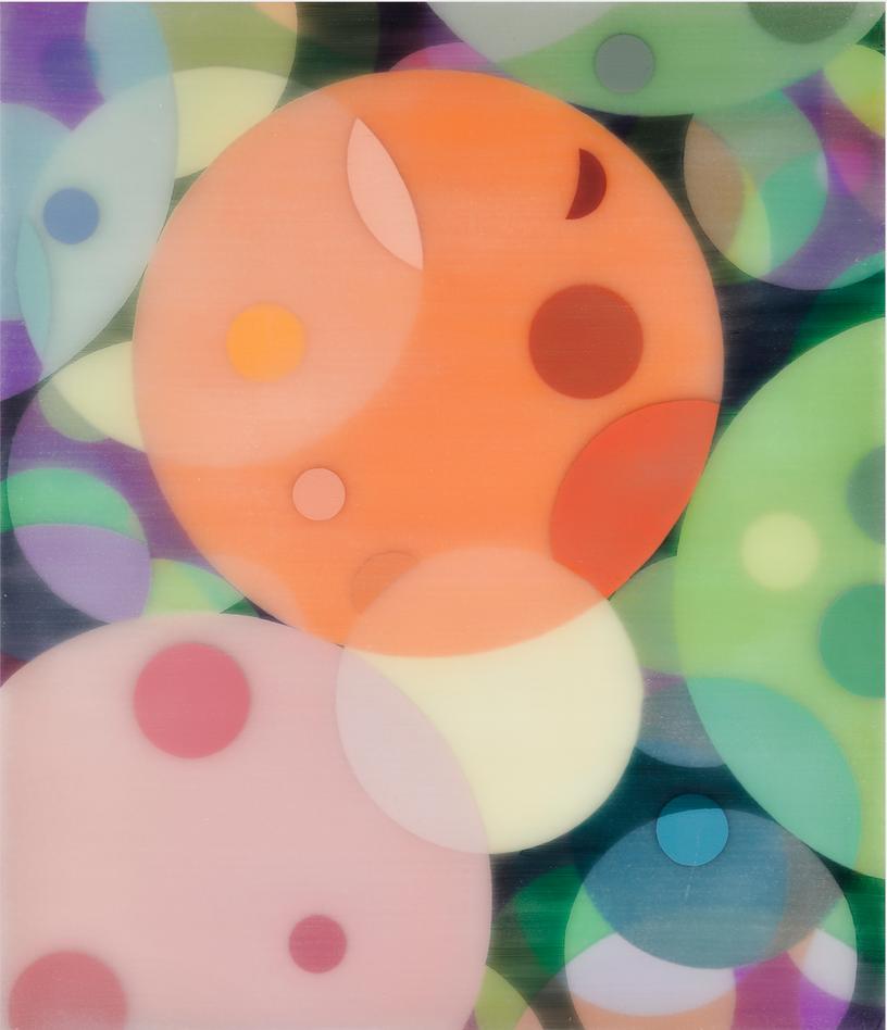 Yuki Yamamoto Untitled , 2019 Acrylic on Canvas , 53 x 45.5 cm