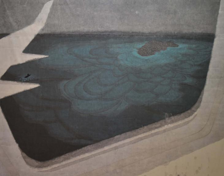 Min Yin Tsai 生活風景- 就這樣飛著, 2019,  Ink on Paper, 120 x 150 cm