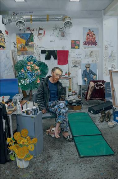 Kwon Neung Gogh (2), 2019 Oil on canvas 108 x 72 cm