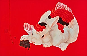 蔡芙郡Fu-Chun Tsai_記憶的鉤子(Memory's Hook)_Oil