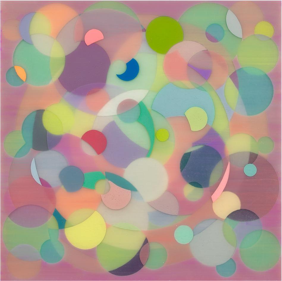 Yuki Yamamoto Untitled , 2019 Acrylic on Canvas , 30 x 30 cm