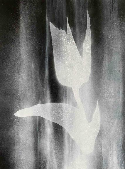 Ryan Su 野地之花 Flower of the Field, 2020,  Acrylic on canvas, 130.0 × 97.0 cm