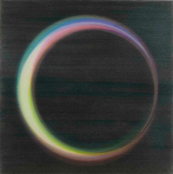 Yuki Yamamoto Untitled , 2020 Acrylic on Canvas , 30 x 30 cm