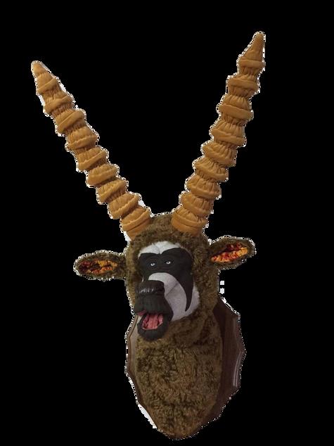 Astro Nuts Antelope 2016 Textile, Cotton, Mixed Media H120 x W49 x D51cm