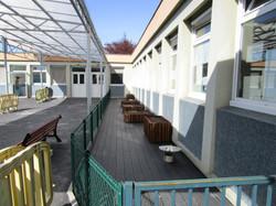 Aménagement terrasse et jardinet