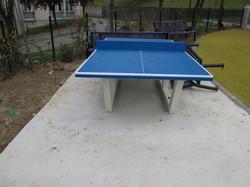 Table ping pong béton