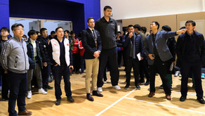 Yao Ming's Grand Visit to The Affiliated High School of Peking University's Dalton Academy