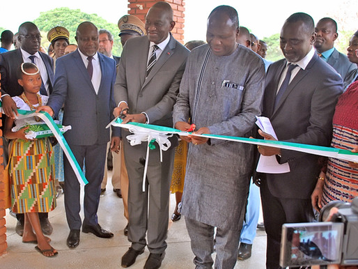 AfricaRice inaugure le Centre de biodiversité du riz pour l'Afrique